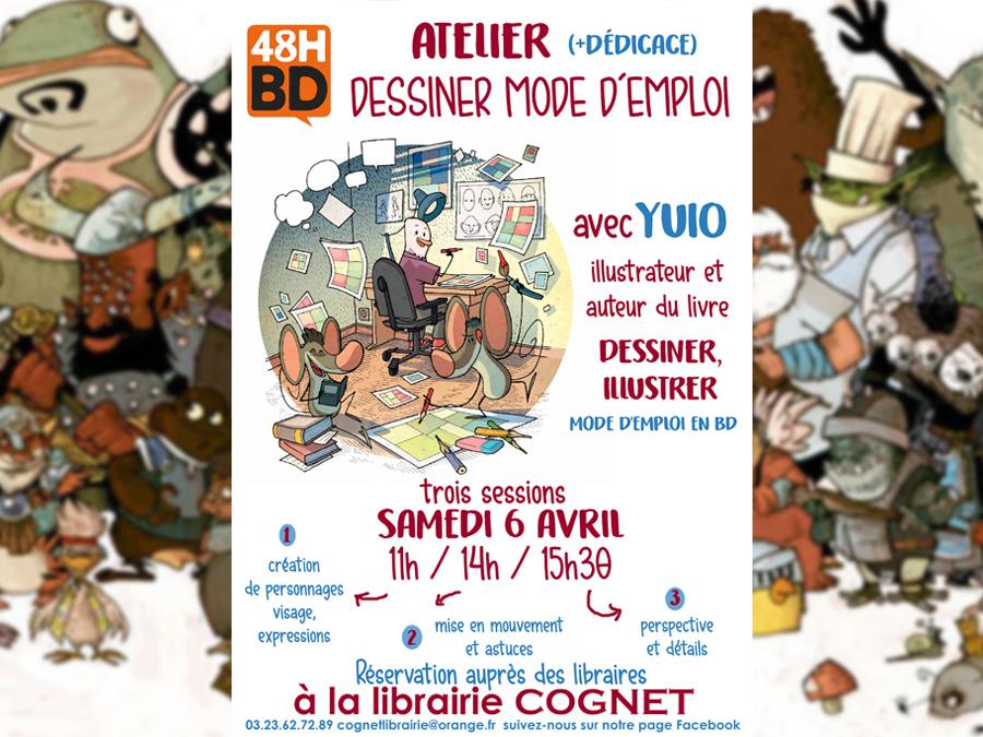 Atelier Dessin Bd Avec Yuio Conseil Departemental De L Aisne