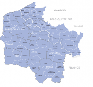 Carte d'Interreg V